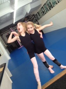 Abby and Keely love ballet and west hartford dance at SuperKids Academy